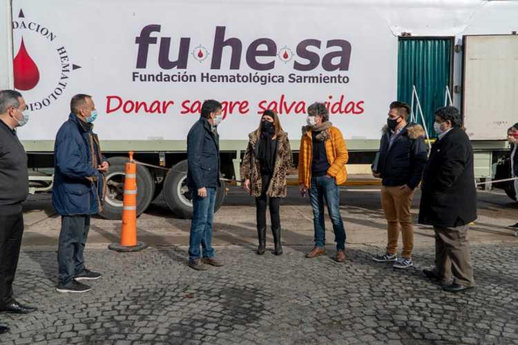San Isidro promueve la donación de sangre