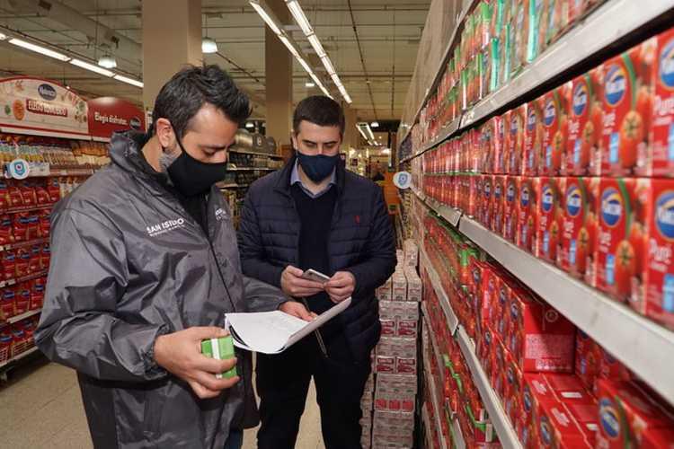 San Isidro intensificó los operativos de control de precios