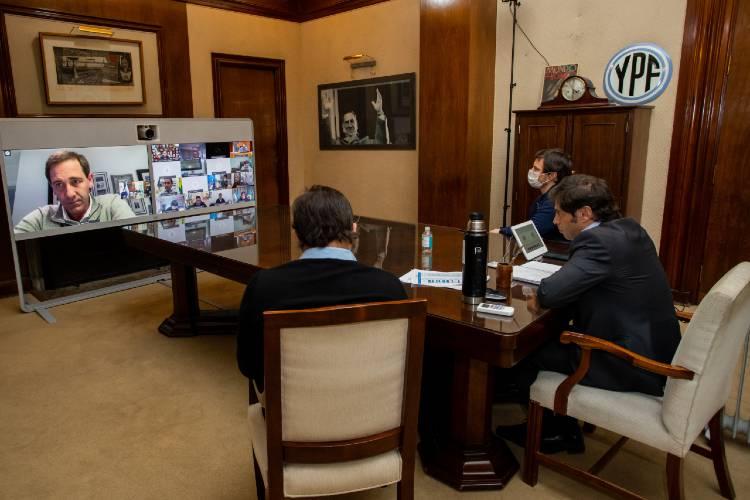 Kicillof evaluó con intendentes del AMBA la nueva etapa de aislamiento social