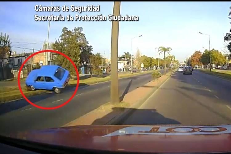 Tigre: Conducía con 1,26 g/l de alcohol en sangre y volcó violentamente