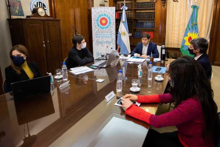 La provincia de Buenos Aires presentó una batería de medidas para los sectores productivos