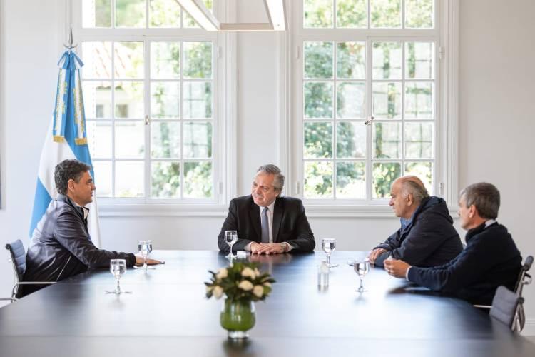 Jorge Macri participó de una Reunión con el Presidente Alberto Fernández y otros intendentes del PRO