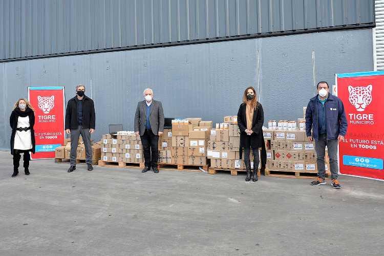 Tigre recibió una importante donación de la empresa L'Oréal