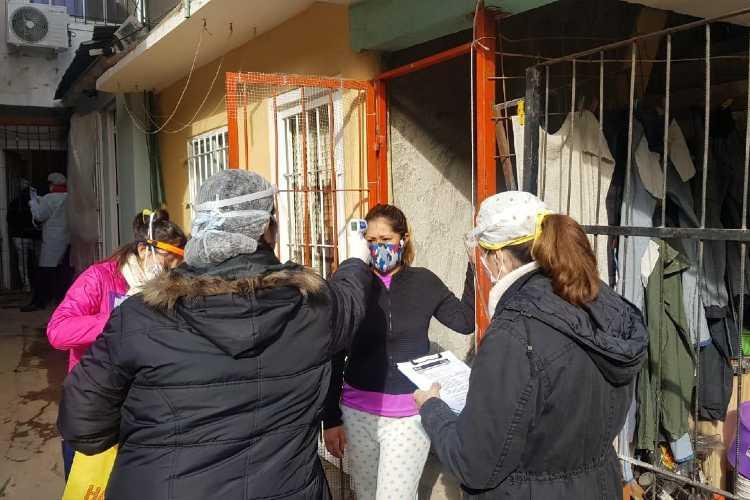 Tigre continúa con operativos activos en los barrios para detectar casos sospechosos