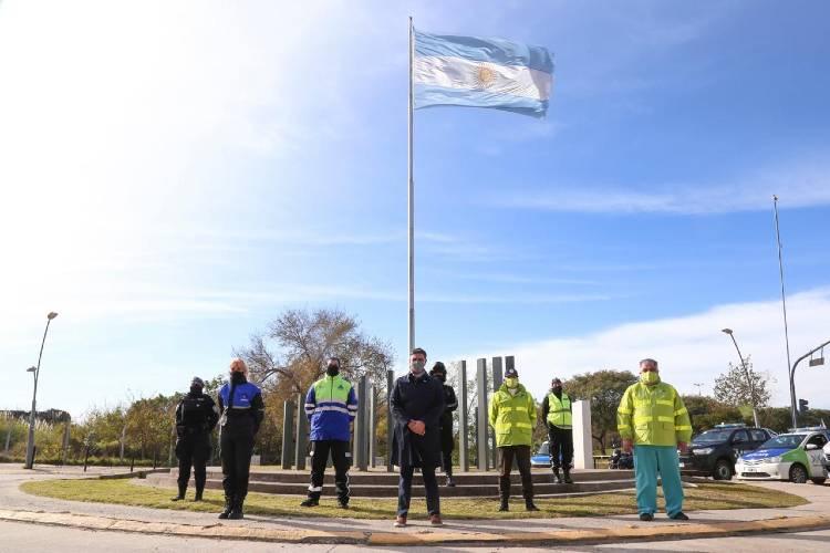 Conmemoración del Día de la Independencia en Vicente López