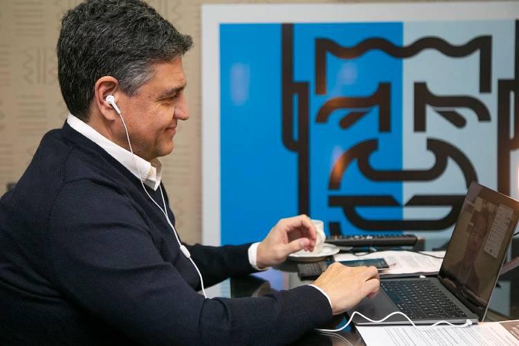 Encuentro abierto vía Zoom entre Jorge Macri y Guillermo Lobo