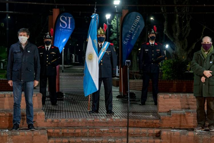 San Isidro festeja el Día de la Independencia con una vigilia online