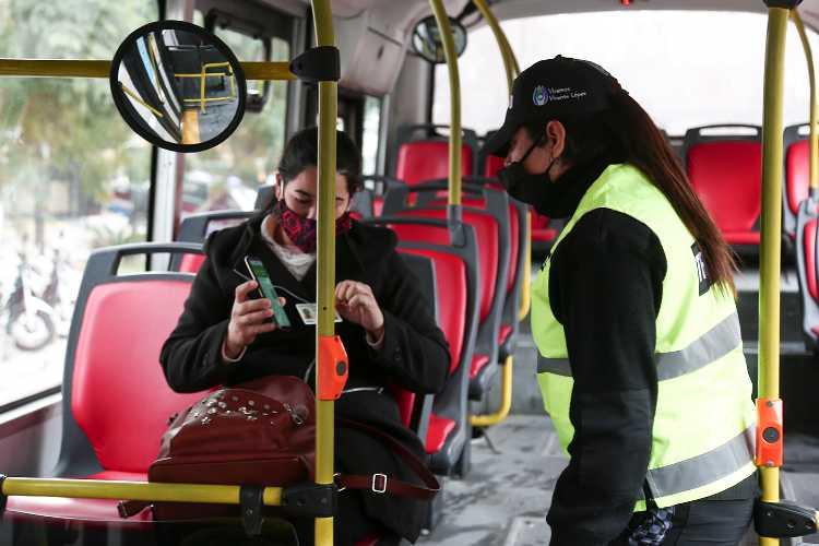 Vicente López: Intensifican los controles vehiculares- coronavirus