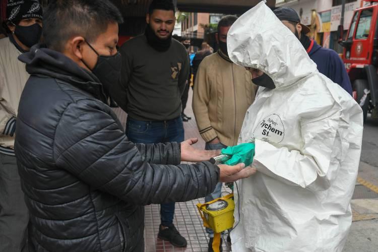 Se registraron hoy 3.367 nuevos casos de Coronavirus en Argentina