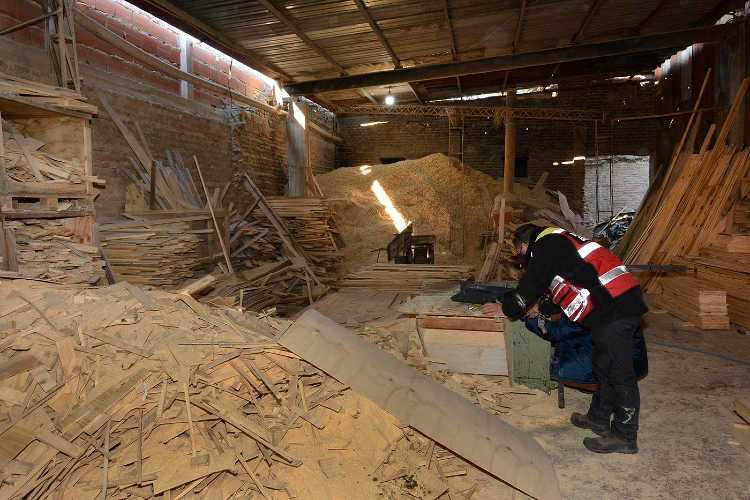 Tigre clausuró una fábrica de muebles sin habilitación en Las Tunas