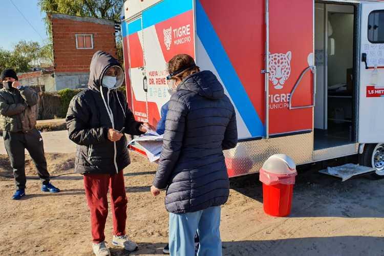 En Tigre se confirmaron 76 nuevos casos de Coronavirus en la últimas 24 horas ()