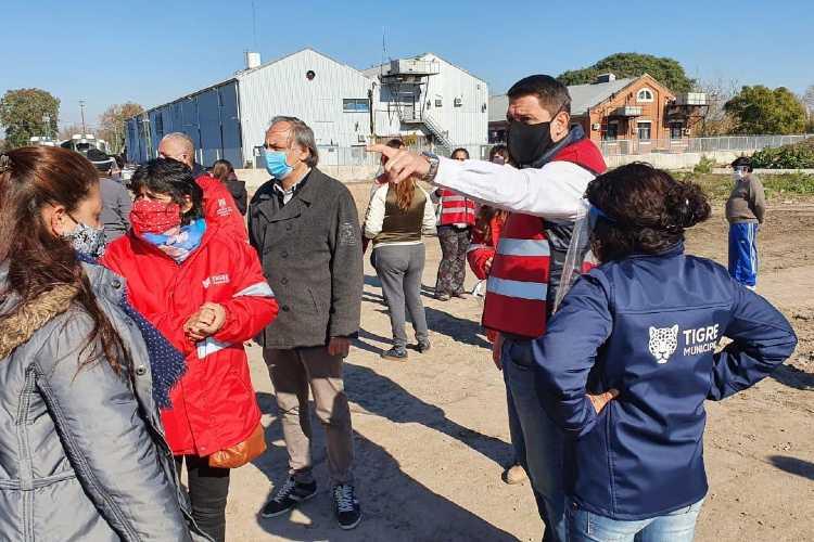 Nuevos operativos en los barrios de Tigre para detectar casos sospechosos de COVID-19