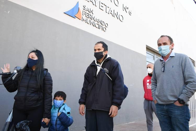 Primeras altas de pacientes de Coronavirus en el Centro de Aislamiento del Poli Nº 6 de San Fernando