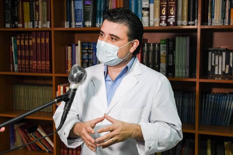 Director Ejecutivo del Hospital ´Petrona V. Cordero´, Juan Delle Donne