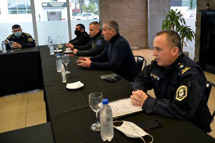 Reunion en Tigre para evaluar la situación del distrito en materia de seguridad
