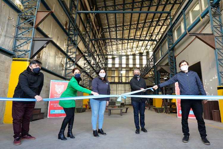 Se inauguró en Benavidez el Polo Cooperativo para recicladores de residuos urbanos