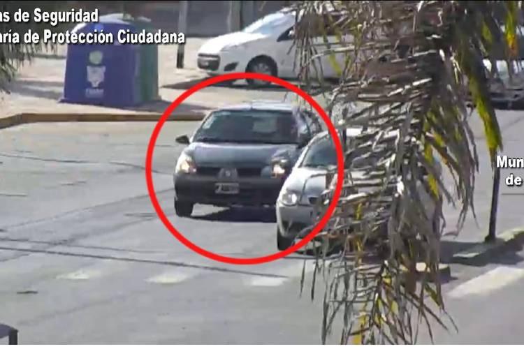 Un vehículo robado fue rastreado por las cámaras de Tigre