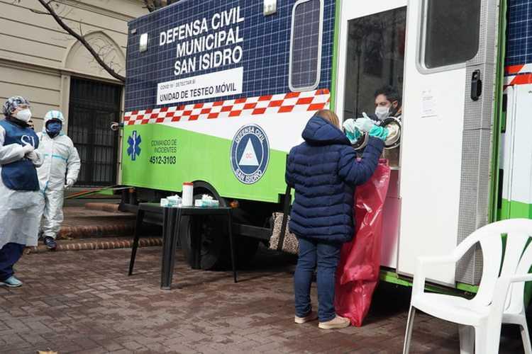 San Isidro amplió la búsqueda de  Coronavirus en Martínez y Boulogne