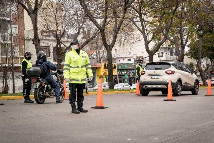 Continúan los controles vehiculares en Vicente López