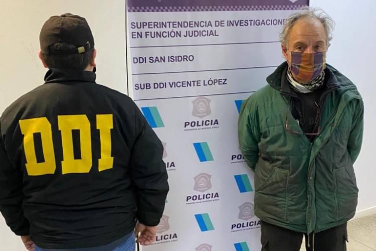 Vicente López: Fue denunciado por amenazar a su ex y le encontraron un arsenal