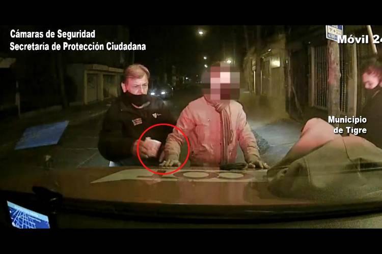Un malviviente robó en un kiosco de Tigre y fue detectado por las cámaras