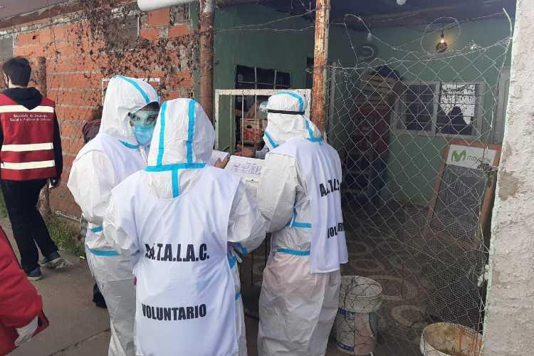 Tigre y Provincia realizaron un operativo de detección de anticuerpos a familias del barrio San Jorge