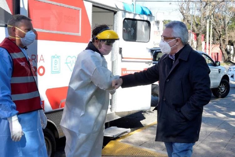 """Julio Zamora: """"En Tigre vamos a continuar con los lineamientos trazados por el Gobierno nacional y provincial"""""""
