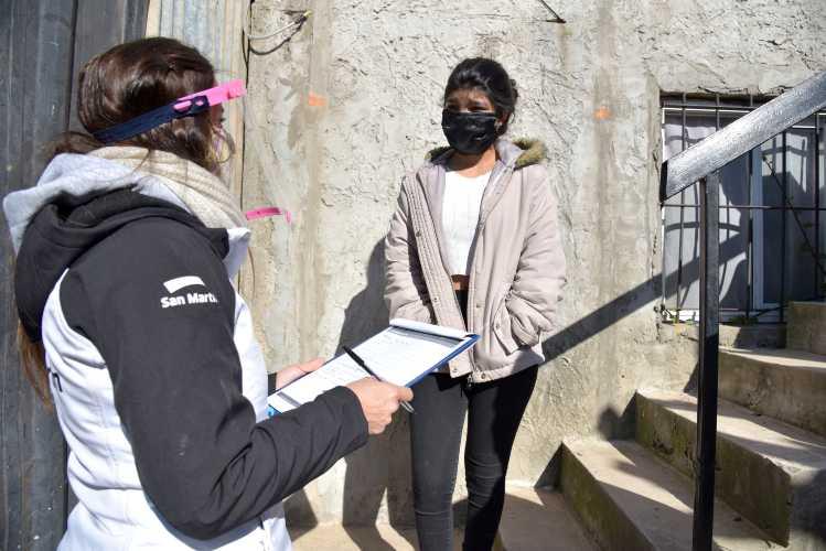 San Martín contacta a alumnos que perdieron vínculo con sus escuelas durante la pandemia