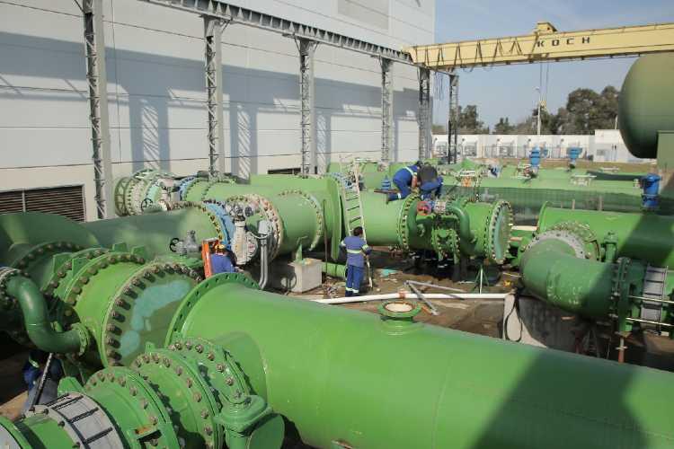 AYSA mejora sus instalaciones para expandir el servicio  de agua en Escobar