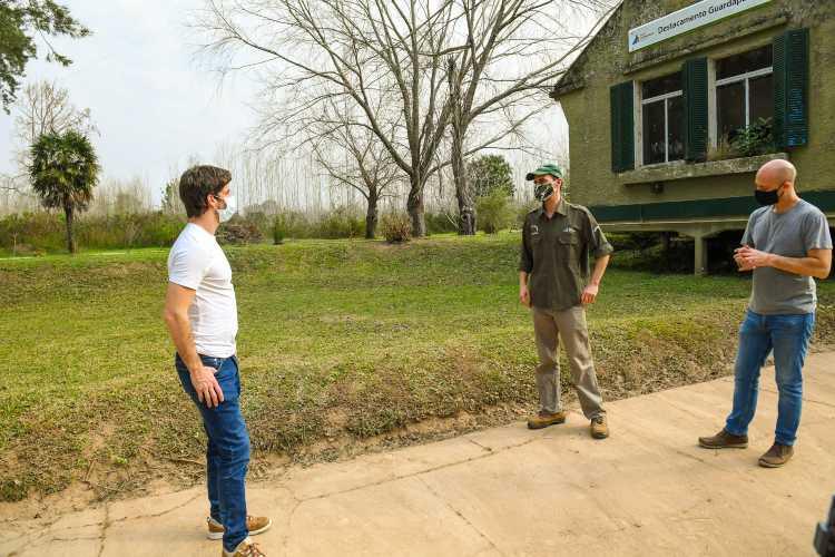 Juan Andreotti se expresó sobre la quema de pastizales en el Delta