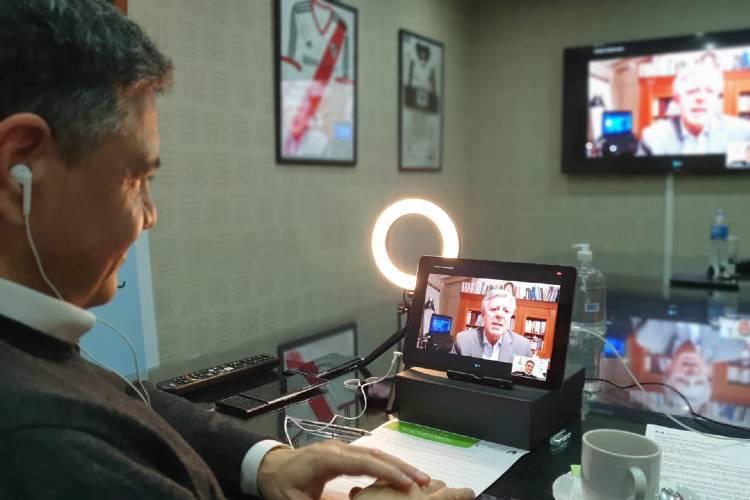 Récord de participantes en el encuentro vía Zoom  entre Jorge Macri y el Dr. López Rosetti