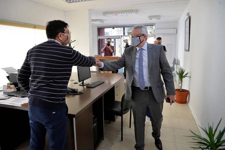 Julio Zamora recorrió la Delegación de Tigre centro