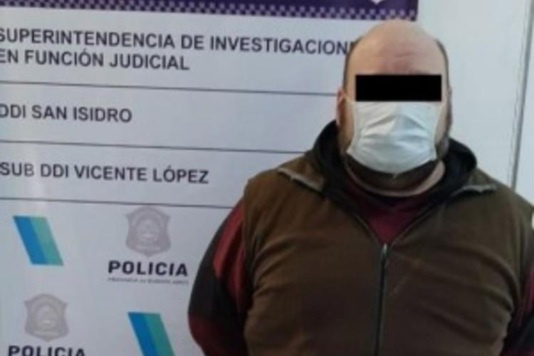 Detuvieron en Vicente López a un hombre por violar a una adolescente que sedujo por redes sociales