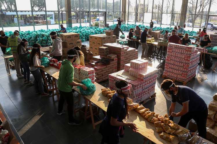 Vicente López, cerca de 70 mil unidades de asistencia alimentaria entregadas a familias