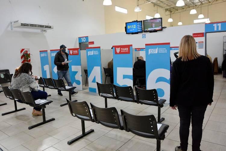 Tigre habilitó el trámite para la renovación y duplicados de licencias de conducir