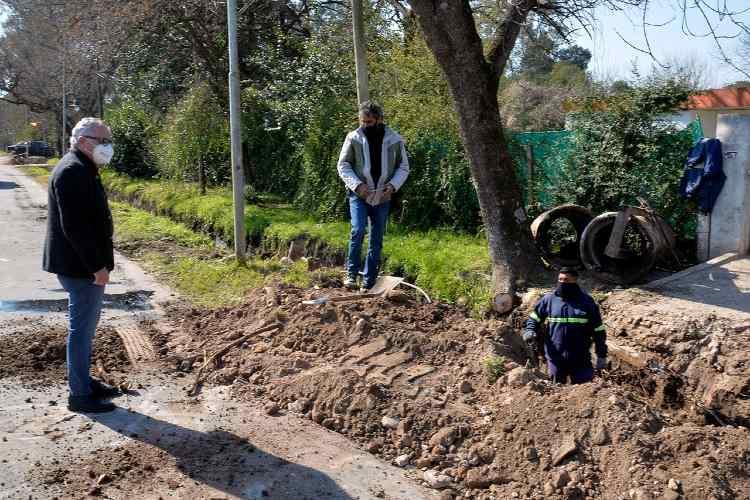 Tigre continúa ejecutando obras y trabajos de revalorización urbana en diferentes localidades