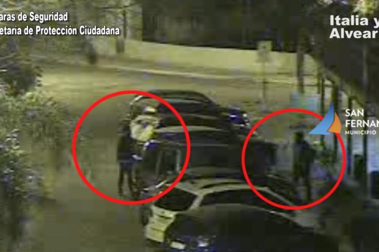 San Fernando: Intentaban abrir autos, los detectan con las cámaras y son detenidos