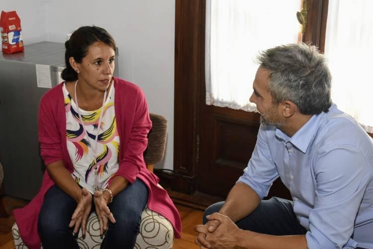 Roxana López recibe al subsecretario de Derechos Humanos Matías Moreno