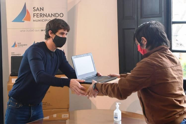 Juan andreotti, Conectar Igualdad