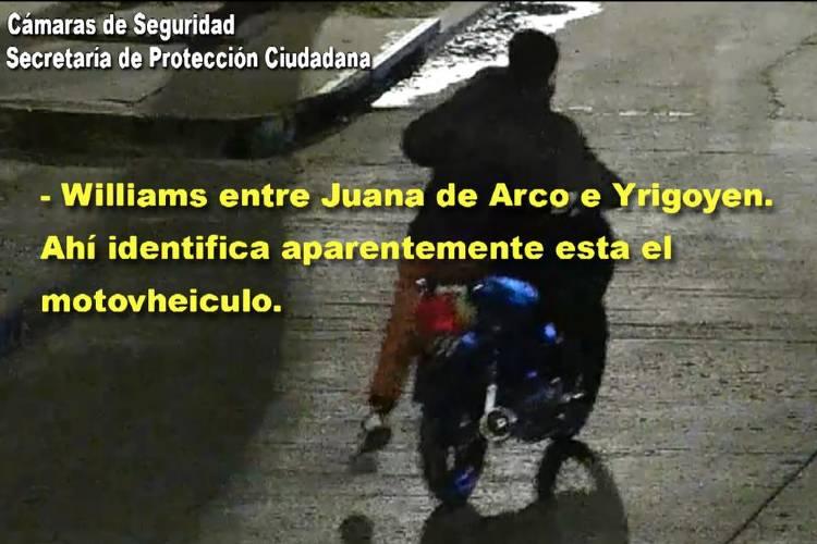 Recuperan una moto robada en Rincón de Milberg tras ser registrado por las cámaras