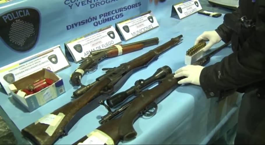 Malvinas Argentinas: Secuestran drogas  detienen a tres narcos en el operativo