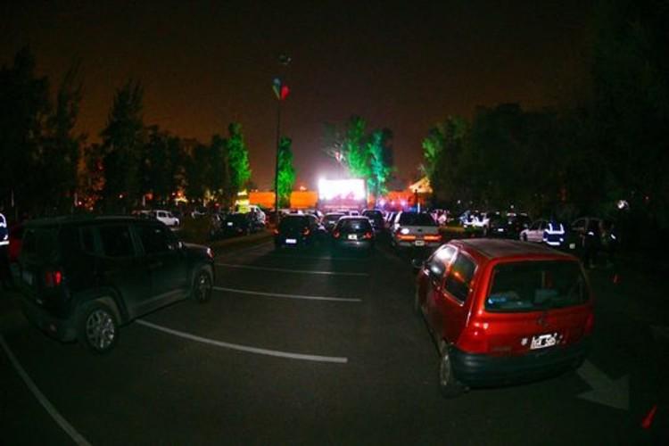 El municipio de Escobar inaugura el primer autoteatro de la Argentina