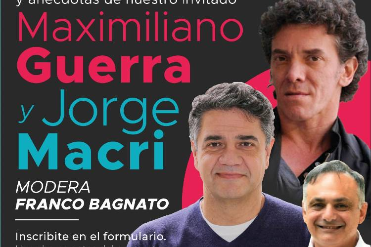 Jorge Macri y Maximiliano Guerra mantendrán una charla vía Zoom