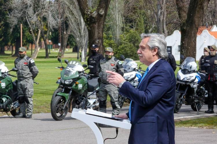 Alberto Fernández puso en marcha un Programa de Seguridad para la provincia de Buenos Aires