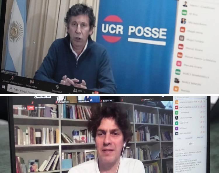 Posse candidato a presidir la UCR Bonaerense con apoyo de Lousteau
