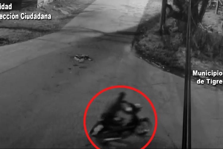 Roban una moto en Rincón de Milberg y son detenidos por el sistema de seguridad de Tigre