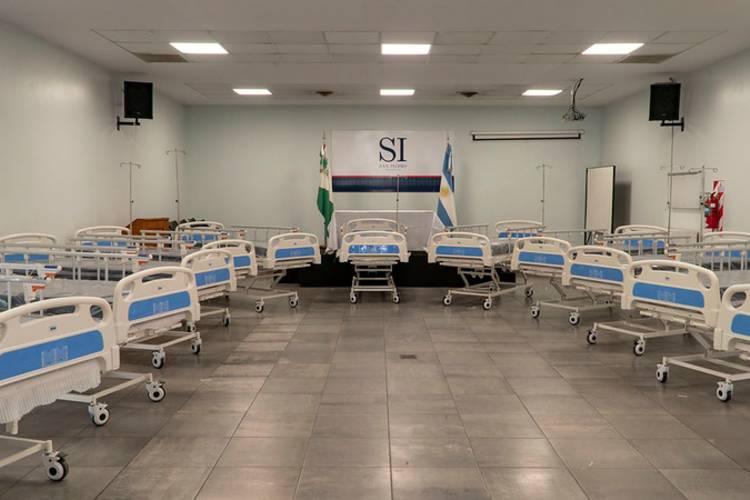 San Isidro: Importante donación anónima de camas para internación