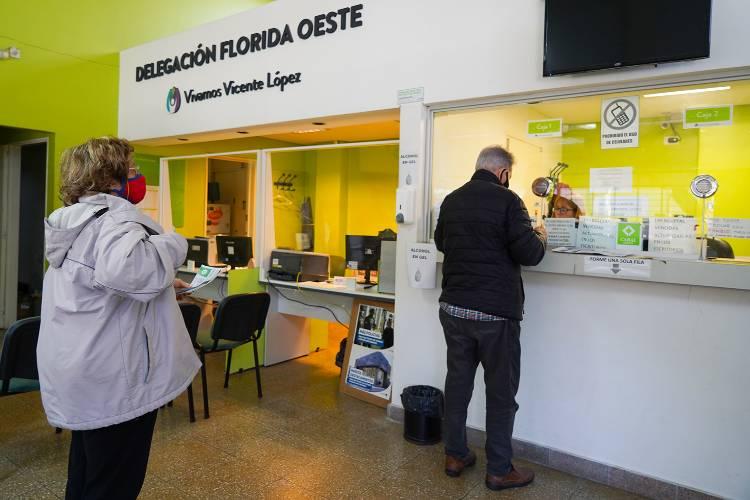 Continúan abriendo las delegaciones municipales de Vicente López