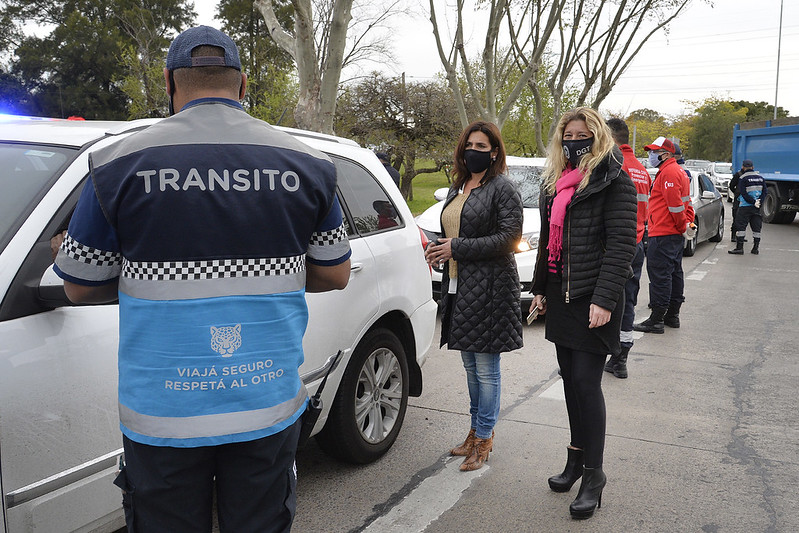 Tigre realizó un nuevo operativo vehicular en el ingreso a la ciudad