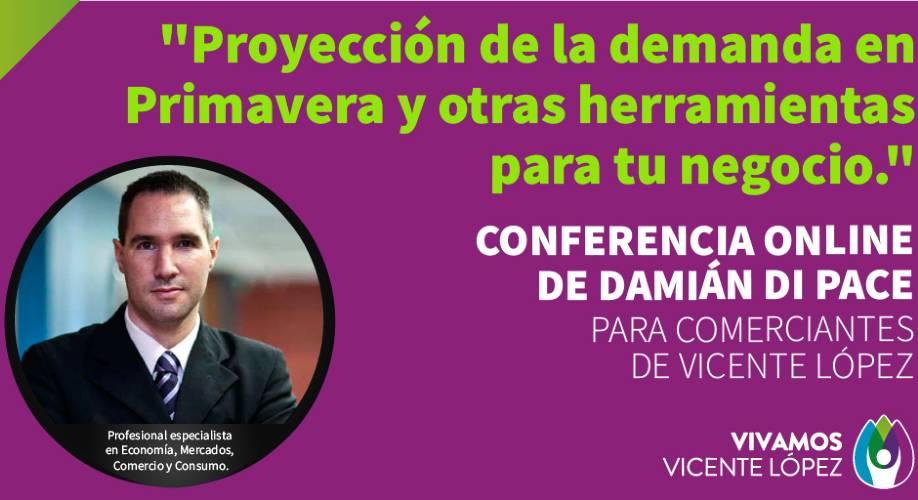 Vicente López: Charla abierta a la comunidad sobre herramientas para potenciar los negocios